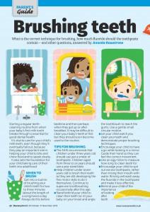 Brushing Teeth Page 1